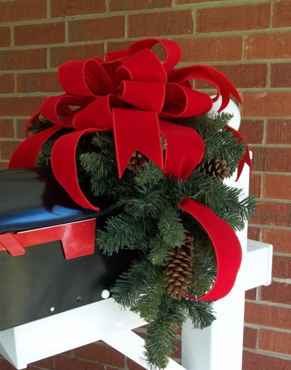 Mailbox Swags For Christmas