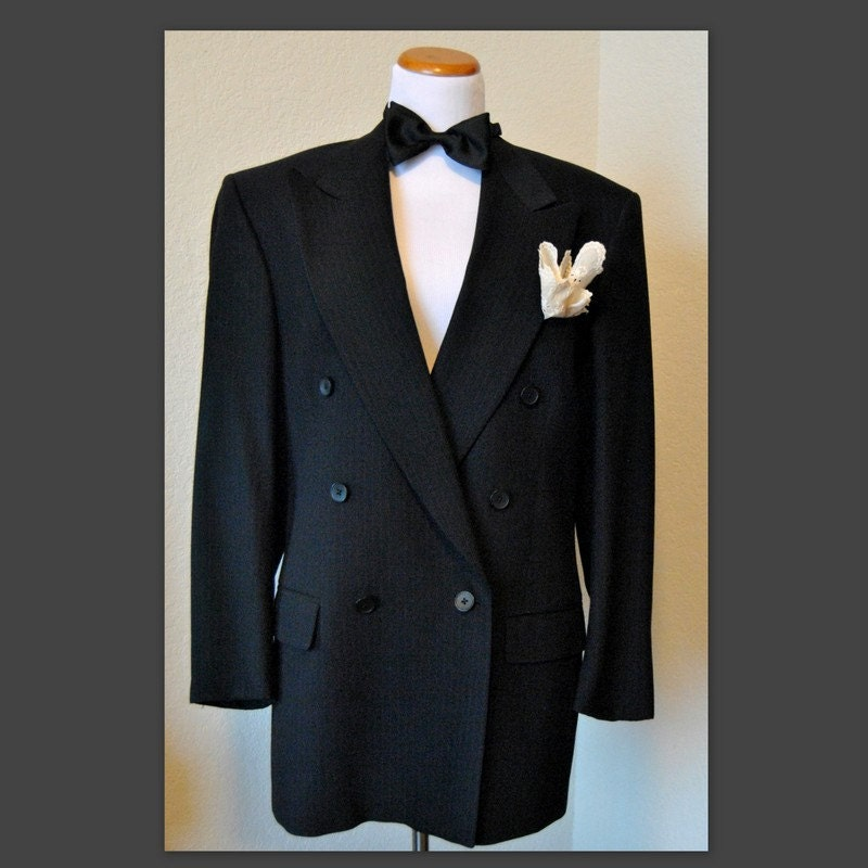 SALE Vintage Italian Men's Suit Jacket Nino Cerruti