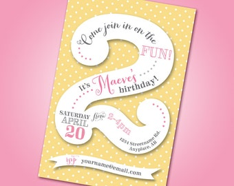 2 year old birthday card gangcraft year old birthday etsy birthday card bookmarktalkfo Images