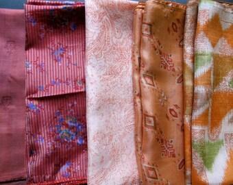 Silk Fat Quarters, Silk Fabric, Sari Silk FQ 92