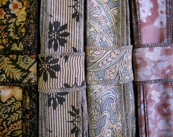 Vintage Silk Ribbon, 4 colors, C34