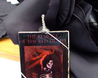 Pendant Edgar Allan Poe The Masque of The Red Death