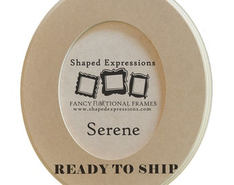 READY TO SHIP - 11x14 Serene -  unfinished picture frame