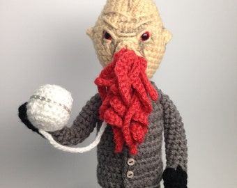 Doctor Who Ood Crochet doll Amigurumi PATTERN