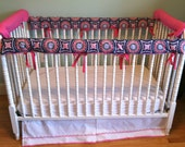 Crib rail teething bumpers- made to order