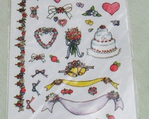 Unique Rub On Transfers Related Items Etsy