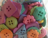 Pastel Shape Buttons