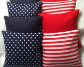 Stars & Stripes Forever Corn Hole Bags - Set of 8