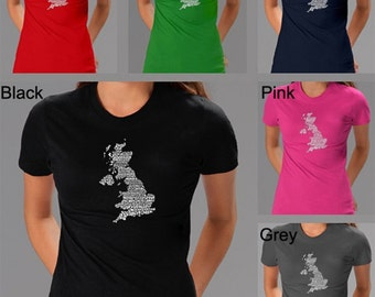 Women's T-shirt - Created out of the lyrics to God Save The Queen
