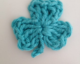 Shamrock Crochet Pattern, PDF, St Patricks Day