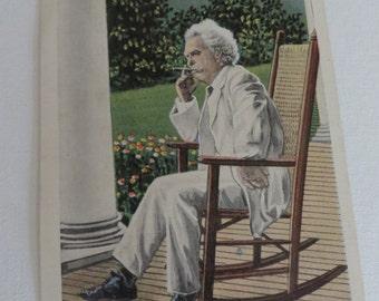 Vintage Mark Twain Hannibal, MO. 23 Post Card