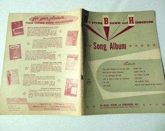 DeSylva, Brown, and Henderson Song Album Music
