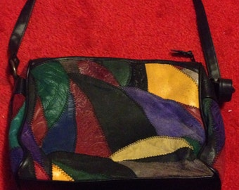 Vintage Leather Multicolored  **REDUCED***