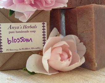 Blossom Organic Soap, Cold Process, Hand Made, All Natural