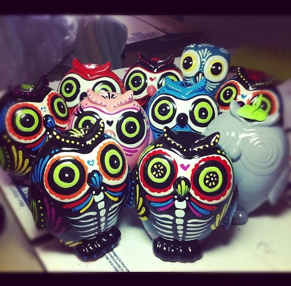 Last Day of the dead owl MADE TO ORDER