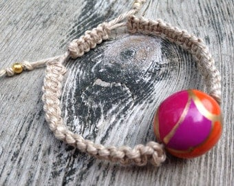 Pucci-inspired bracelet