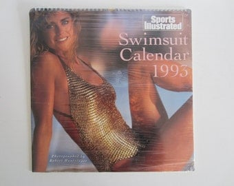 1993 Sports Illustrated Swimsuit Calendar, Kathy Ireland, Vendela Kirsebom, Angie Everhart, Naomi Campbell, Stacy Williams, Ashley and Judit