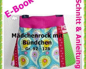 """E-Book - Mädchenrock """"Elisa"""" Gr. 92-128"""