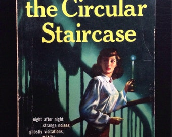 Vintage Paperback The Circular Staircase By Mary Roberts Rinehart 1955