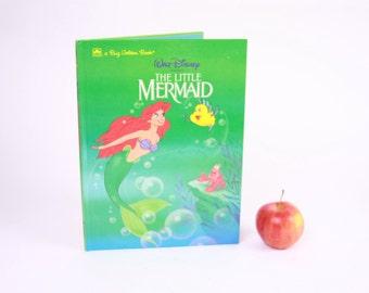 iPad Case / Book Tablet Cover Case- (iPad / iPad Air / Kindle Fire 8.9 / Nexus 10 / Samsung 10.1 / Hardcover / Book)  The Little Mermaid