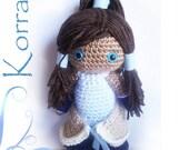 Korra Crochet Doll - The Legend of Korra Inspired