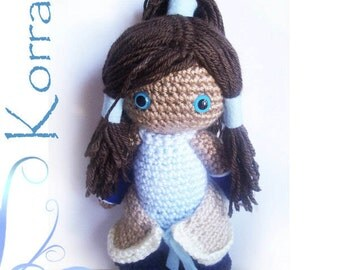 Korra Crochet Doll - The Legend of Korra Inspired