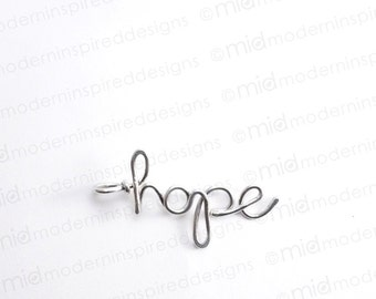 Hope Necklace - Christian Jewelry - Faith Jewelry - Hope - Christian Gift - Scripture Jewelry - Bible Verse Jewelry - Inspirational Jewelry