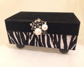 Animal Print Decorative Box
