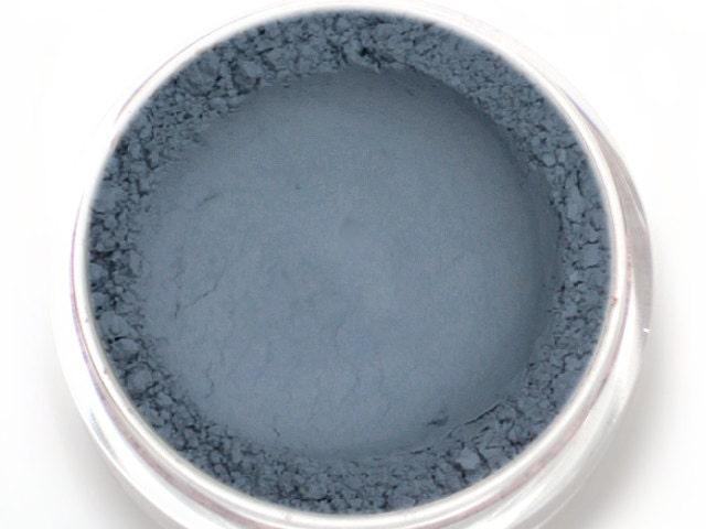 Matte Blue Gray Eyeshadow Dusk Medium Soft