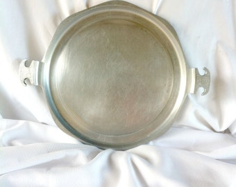 Guardian Service Hammered Aluminum Serving Tray