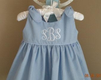 Monogrammed Sun Dress