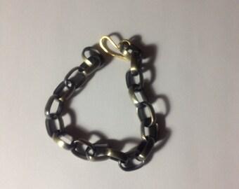 Brass large link chain Bracelet