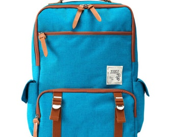 Back to school Backpack (Turquoise)