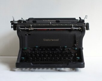 items similar to 1939 underwood standard machine crire on etsy. Black Bedroom Furniture Sets. Home Design Ideas