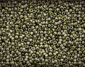 Size 15 Seed Beads TOHO 15/0 10g Green Tea 15-457