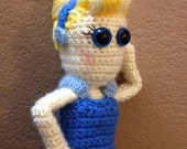 Cinderella dress-up doll