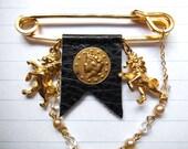 Lannister--Lion Crest Pin