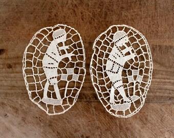 Victorian lace sampler / crochet sampler