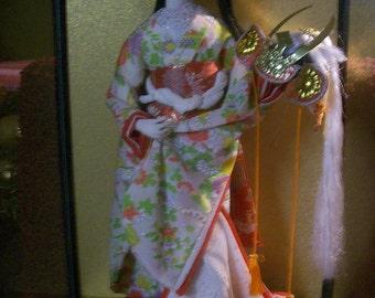 Large Geisha Doll