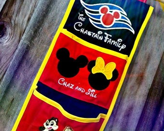 Two Pocket Fish Extender for Disney Cruise Lots of Designs