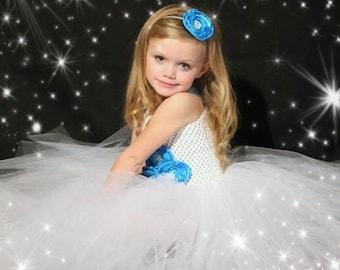 "The ""Isabella"" Tutu - Flower Girl  Dress size  6-9m, 12-18m, 18-24m, 2t, 3t, 4t, 5t, 6"
