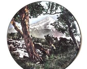Vintage Royal Dalton Mount Egmont picture plate
