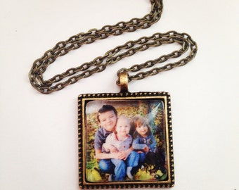 Photo pendant from Instagram picture