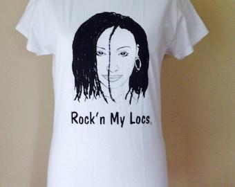 Locs Natural Hair T Shirt