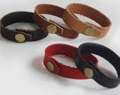 3 Pack Leather Bracelet - Handmade Leather Bracelets