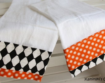 Fall Kitchen Hand Towels, set of 2