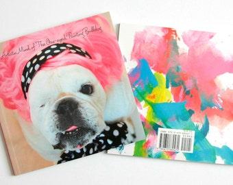 RESCUE DOG BOOK, Humorous book of Piper the English Bulldog, Over 50 Adorable Dog Photos - Sale