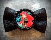 Tattooed Mermaid Hair Bow