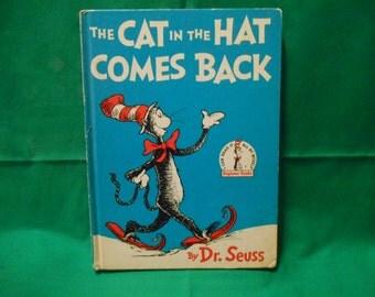 "One (1), Beginner Books, Dr. Seuss's, ""Green Eggs and Ham"". Original 1960 Edition."