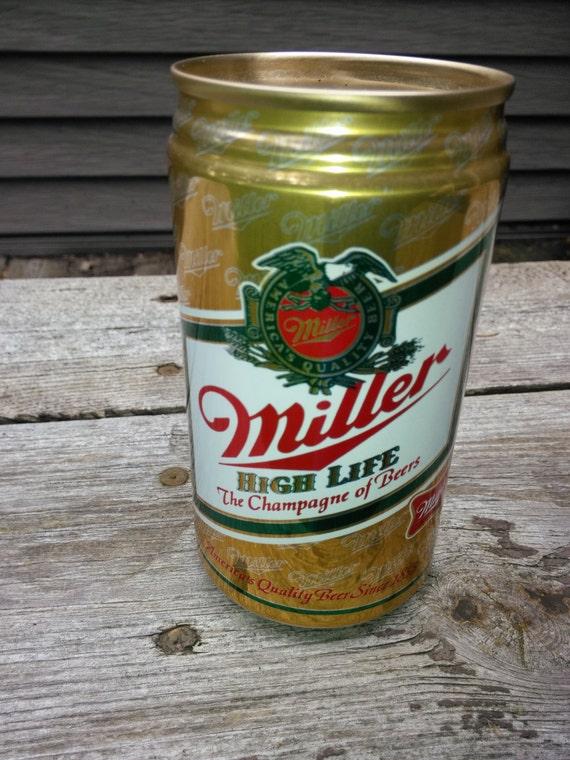 Vintage Miller Beer Can Bank